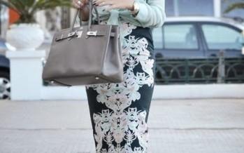 Outfit de falda tipo Lapiz Pencil Skirt