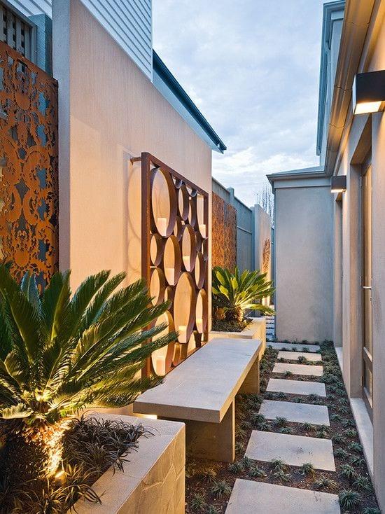 Paneles decorativos con corte laser 2 curso de organizacion del hogar y decoracion de interiores - Paneles decorativos bano ...