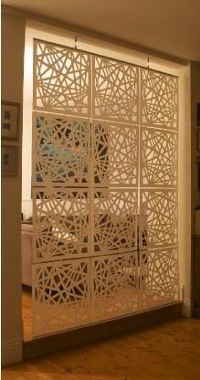 Paneles decorativos con corte laser 24 curso de - Paneles decorativos bano ...