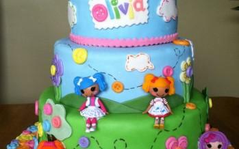 Pasteles de cumpleaños de lalaloopsy