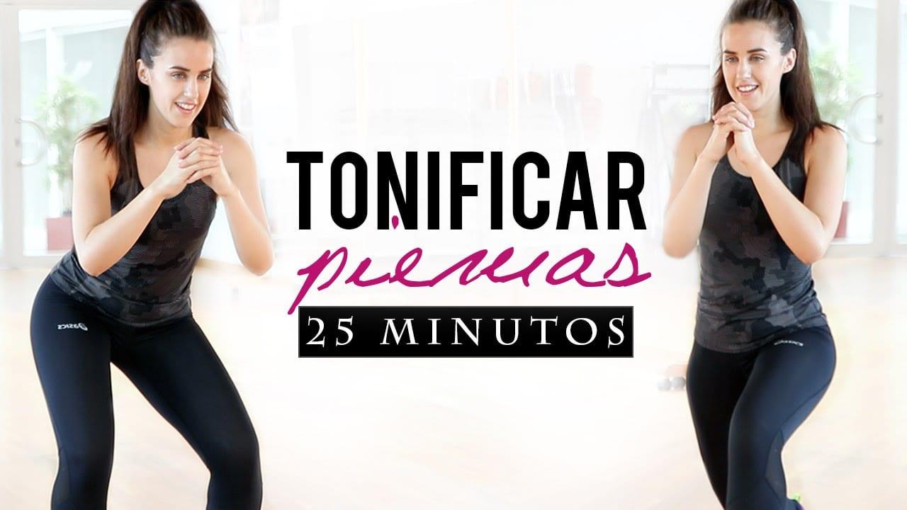 rutina para tonificar las piernas en solo 25 minutos