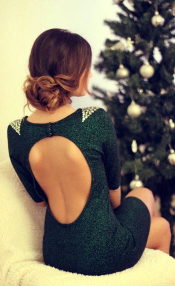 Sensacional peinados para cuello halter Fotos de cortes de pelo Ideas - vestidos con espalda descubierta elegantes y con estilo ...