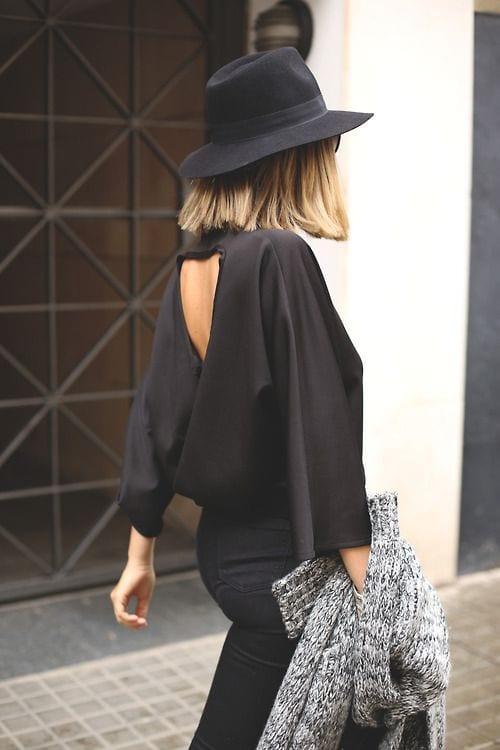 Vestidos cortos con espalda descubierta tumblr