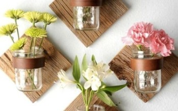 Decoracion con mason jars