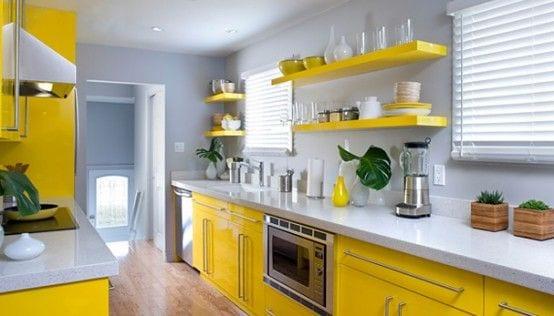 Decoracion de cocina en color amarillo (5) - Curso de Organizacion ...