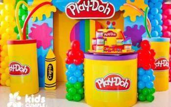Fiesta con temática de Play doh