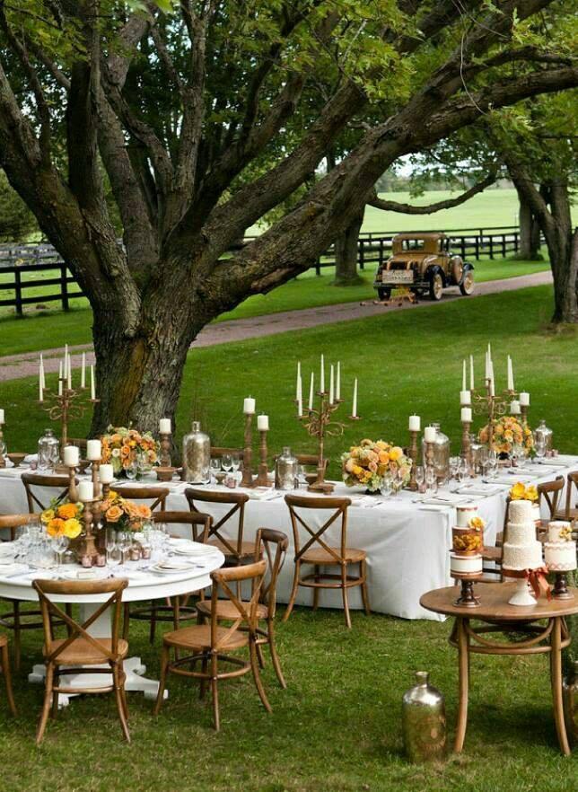 Ideas de boda en jardin 23 curso de organizacion del for Ideas para boda en jardin