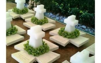 Ideas de centros de mesa para primera comunion