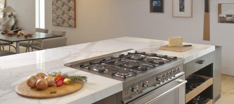 Ideas de estufas a mitad de la cocina