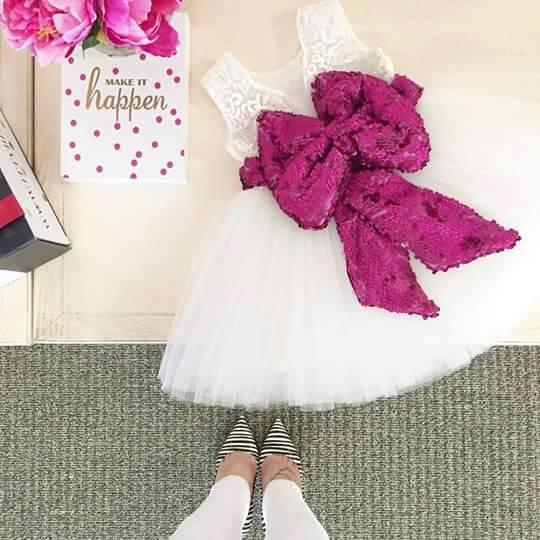Ideas de vestidos y zapatos para niña