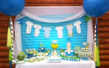 Ideas para baby shower color pastel