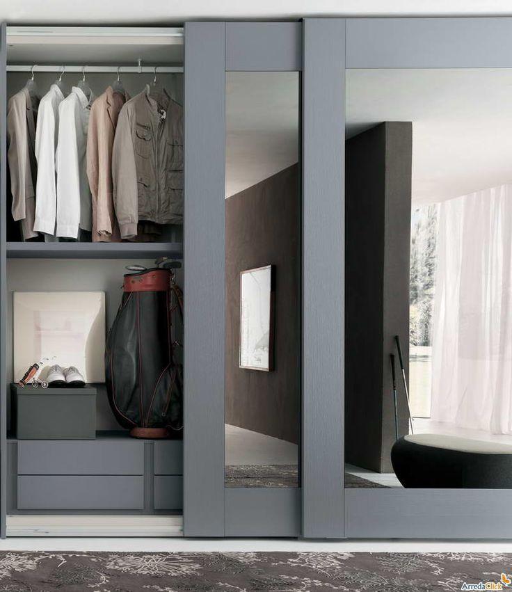 Ideas para closet con madera y espejo 1 curso de for Decoracion closet en madera