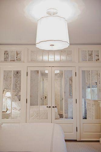 Ideas para closet con madera y espejo curso de for Ideas para enmarcar espejos