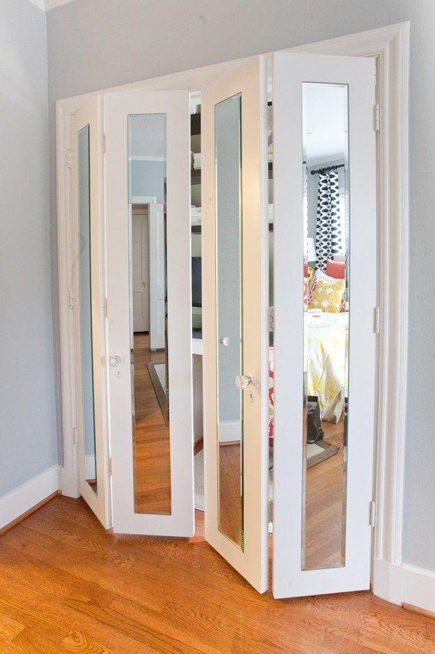 Ideas para closet con madera y espejo 13 curso de for Ideas para enmarcar espejos