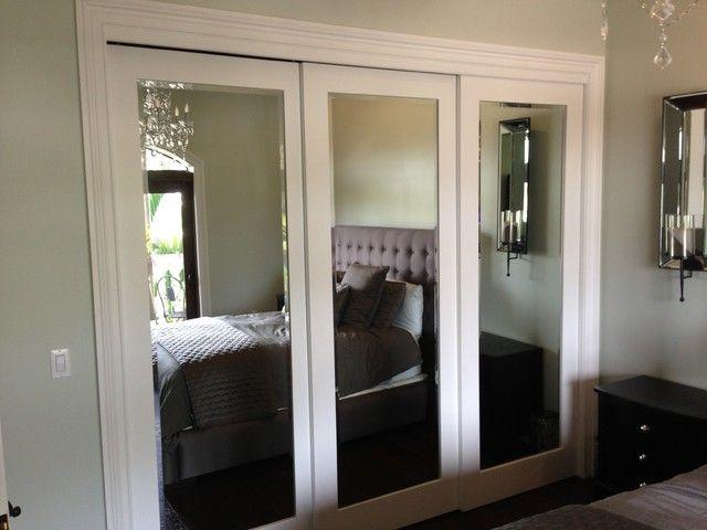 Ideas para closet con madera y espejo 15 curso de for Ideas para enmarcar espejos