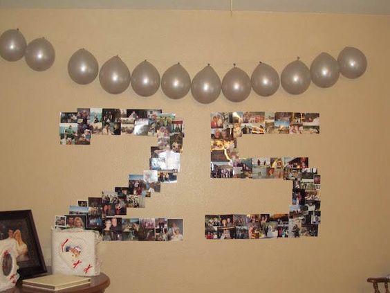 Ideas para decorar y organizar bodas de plata 16 curso for Decoracion 40 aniversario de bodas