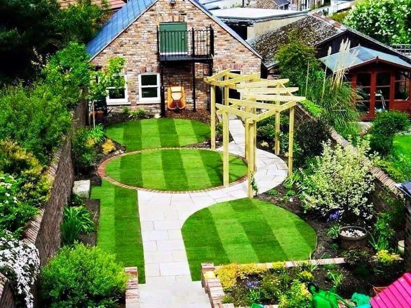 Ideas para jardines peque os con piedra 14 curso de - Jardines pequenos con piedras ...