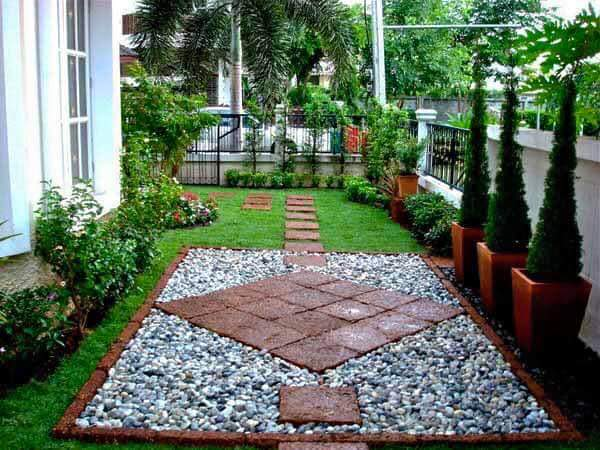 Ideas para jardines peque os con piedra 16 curso de for Ideas para decorar patios y jardines