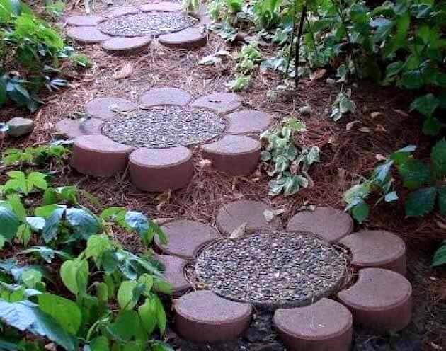 ideas para jardines pequeos con piedra with adornos para jardines pequeos