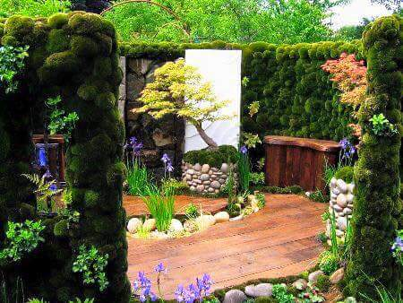 Ideas para jardines peque os con piedra 18 curso de for Jardines redondos pequenos
