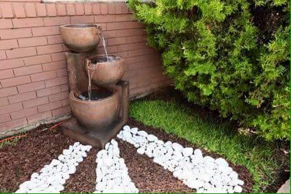 Ideas para jardines peque os con piedra 19 curso de organizacion del hogar y decoracion de - Iluminacion jardines pequenos ...
