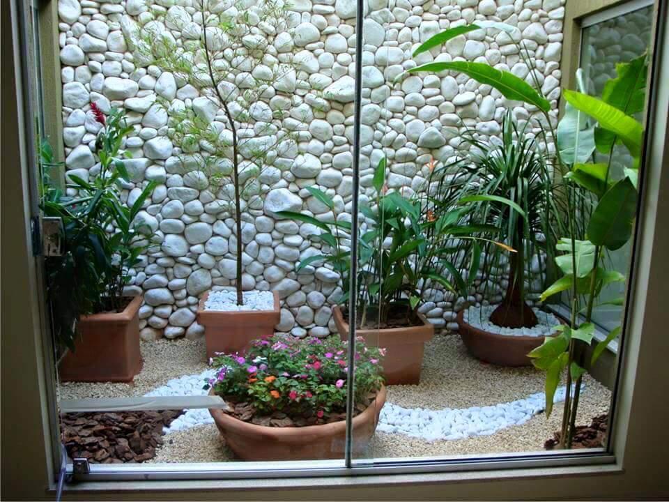 Ideas para jardines pequeños con piedra (21)   curso de ...