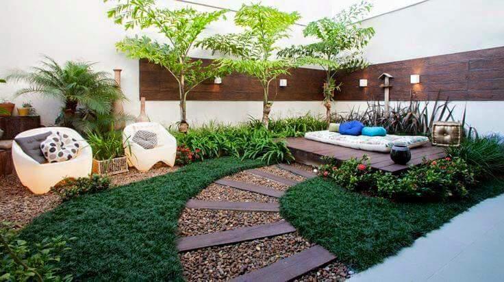 Ideas Para Jardines Peque 241 Os Con Piedra 22 Curso De