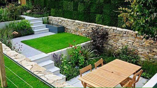 Ideas para jardines peque os con piedra 26 curso de - Jardines pequenos con piedras ...