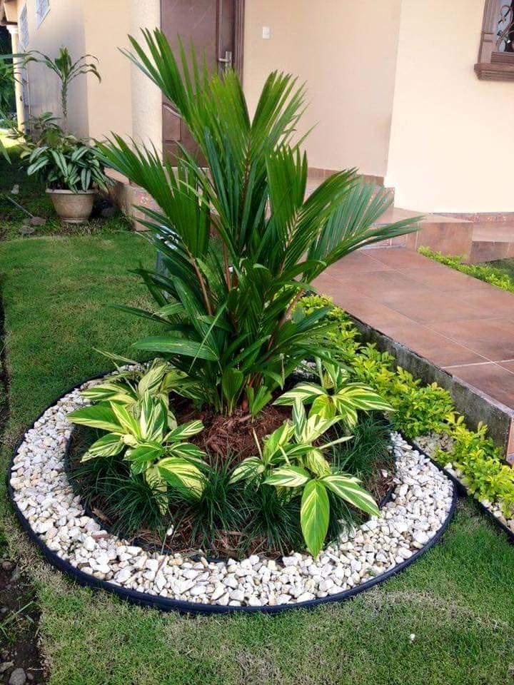 Ideas para jardines pequeños con piedra (28)   curso de ...