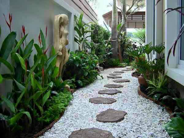 Ideas para jardines peque os con piedra 4 curso de for Decorar piso zen