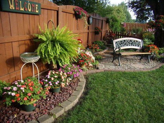 Ideas para jardines traseros 10 curso de organizacion for Ideas originales para jardines