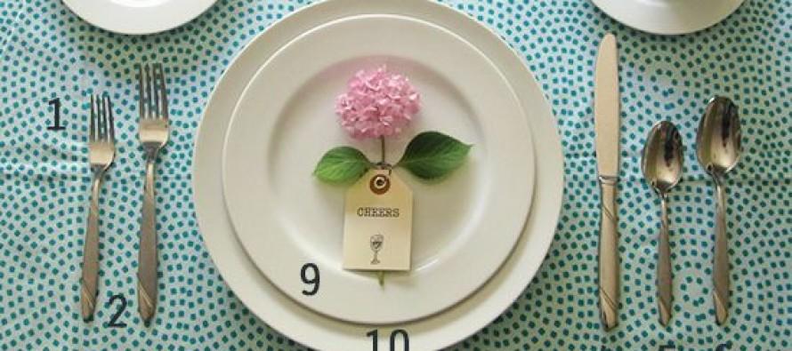 Ideas para poner la mesa para eventos
