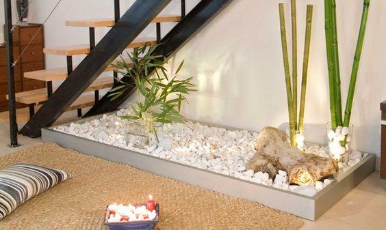 Jardines interiores bajo escaleras 6 curso de for Decoracion de hogar interiores
