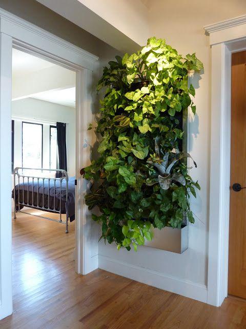 Jardines verticales interiores curso de organizacion del for Jardines verticales para interiores