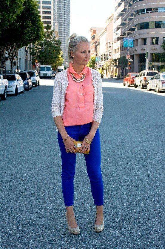 Outfits Con Color Azul Rey (1) - Curso De Organizacion Del Hogar Y Decoracion De Interiores