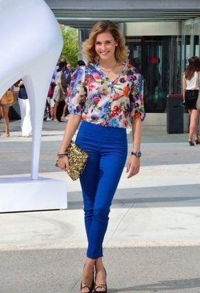 Outfits Con Color Azul Rey (17) - Curso De Organizacion Del Hogar
