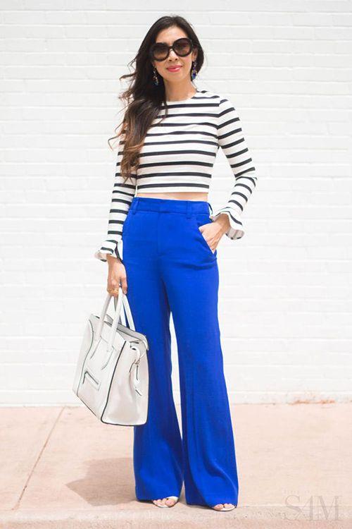 Outfits Con Color Azul Rey (2) - Curso De Organizacion Del Hogar Y Decoracion De Interiores