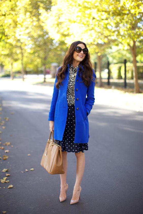 Outfits con color azul rey (4) - Curso de Organizacion del hogar