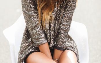 Outfits con detalles en lentejuela