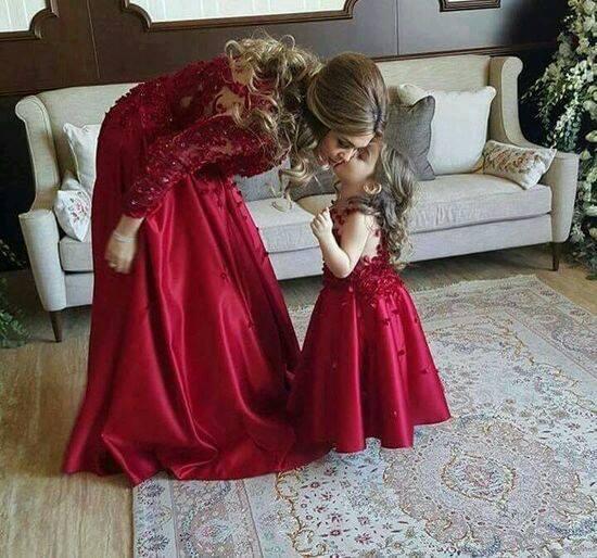 Vestidos de fiesta para mama e hija iguales