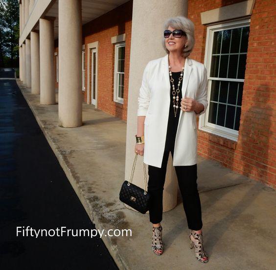 Como vestir una mujer de 60 años