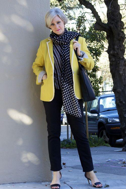 Moda para señoras de 60 años gorditas