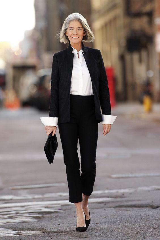Moda para mujeres de 60 años