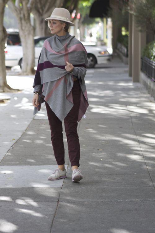 Outfits para mujeres mayores de 60 años
