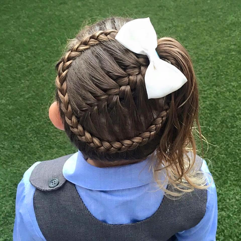 Varios peinados peinados para niñas boda Colección De Tutoriales De Color De Pelo - Peinados para niñas (1) | Curso de Organizacion del hogar ...