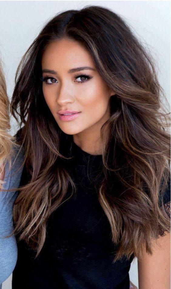 Color de cabello 2016 para morenas dark brown hairs