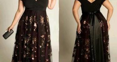 Vestidos de gala para mujeres plus size
