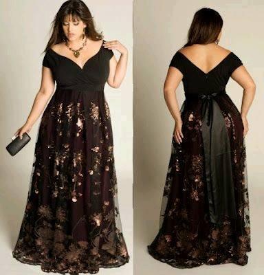 3e2743cba6d Vestidos de gala para mujeres plus size - Curso de Organizacion del hogar y  Decoracion de Interiores