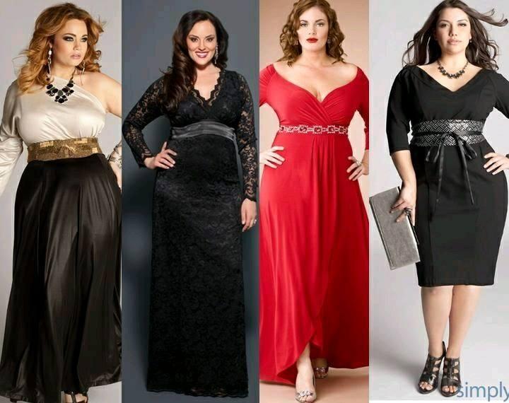 21cd90e48a4 Vestidos de gala para mujeres plus size (13) - Curso de Organizacion ...
