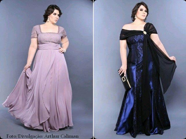 723ab863fdf Vestidos de gala para mujeres plus size (9) - Curso de Organizacion ...